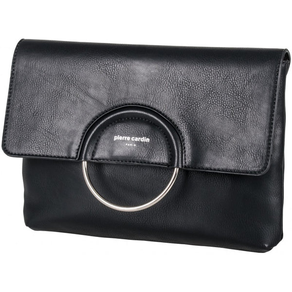 Pierre Cardin Rebecca Crossbody/Clutch Bag | Black - KaryKase