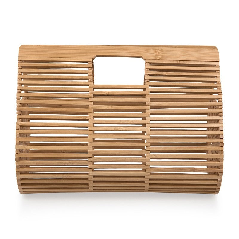 Tessa Design Barrel Wicker Bag - KaryKase