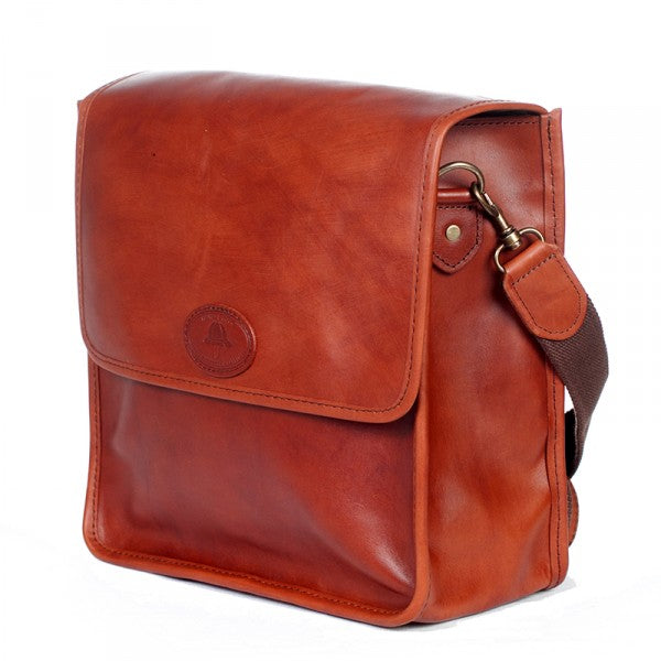 Melvill & Moon Bladsak Messenger Bag | Leather - KaryKase