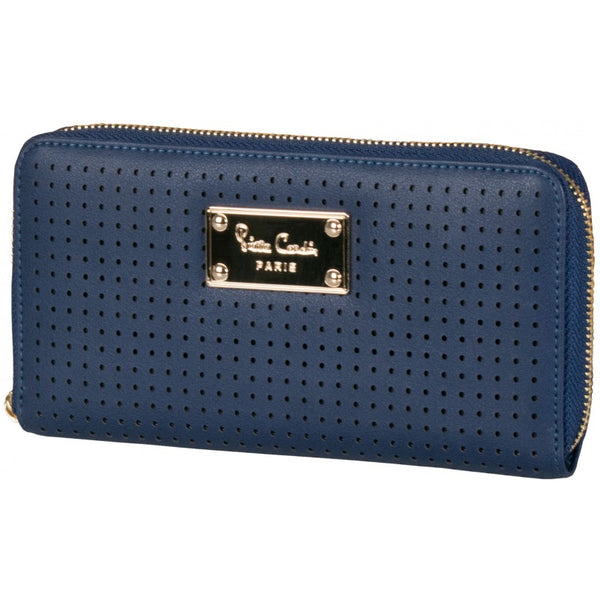 Pierre Cardin Brielle zip Around Purse | Navy - KaryKase