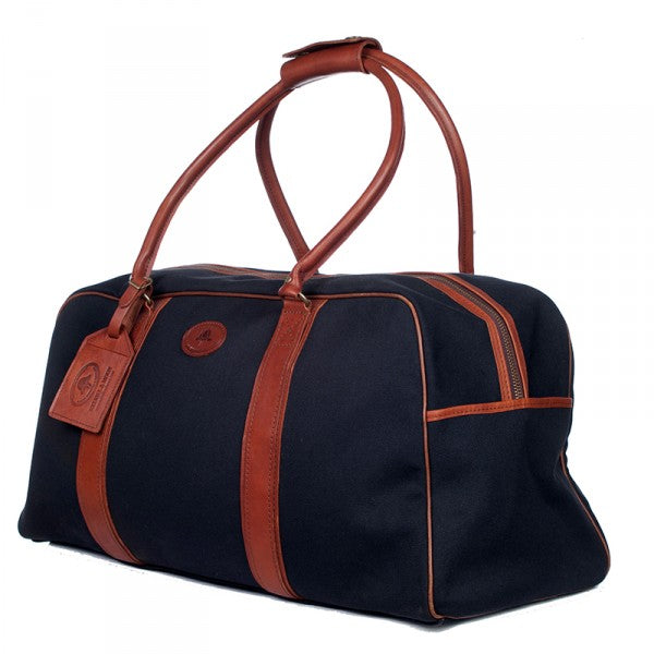 Melvill & Moon Canvas Bulawayo Duffel Bag | Black - KaryKase