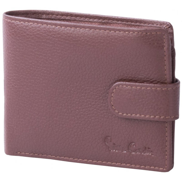 Pierre Cardin Byron Leather Tab Wallet | Brown - KaryKase