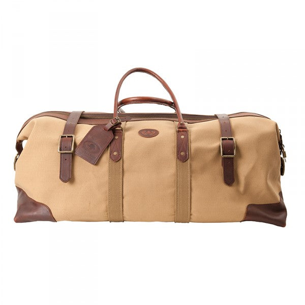 Melvill & Moon Canvas Catalina Duffel Bag | Khaki - KaryKase