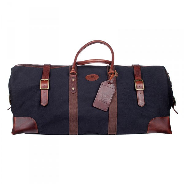 Melvill & Moon Canvas Catalina Duffel Bag | Black - KaryKase