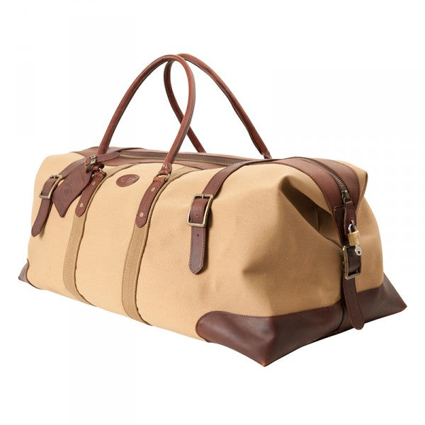Melvill & Moon Canvas Catalina Duffel Bag | Khaki