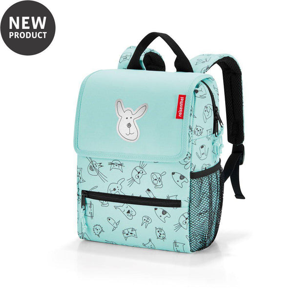 Reisenthel® Kids backpack | Cats And Dogs Mint - KaryKase