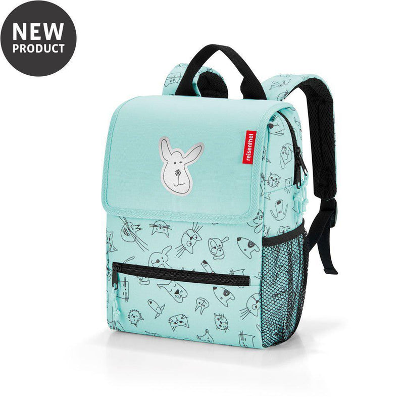 Reisenthel® Kids backpack | Cats And Dogs Mint