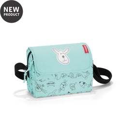 Reisenthel® Kids Everyday Shoulder Bag | Cats And Dogs Mint - KaryKase