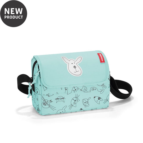 Reisenthel® Kids Everyday Shoulder Bag | Cats And Dogs Mint