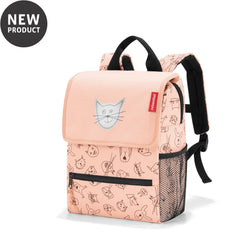 Reisenthel® Kids backpack | Cats And Dogs Rose - KaryKase