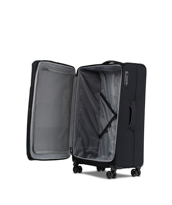 Conwood Soho Spinner Luggage Set | Black - KaryKase