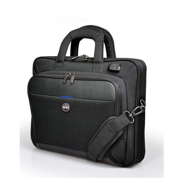Port Designs Chicago EVO 15.6″ Laptop Bag | Black - KaryKase