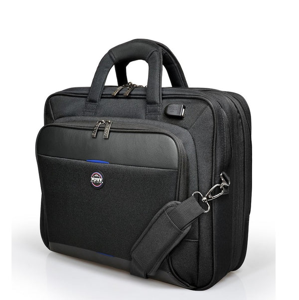 Port Designs Chicago EVO 15.6″ Laptop Bag - Expandable | Black - KaryKase
