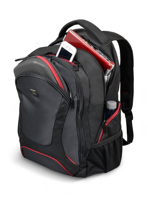 Port Designs Courchevel 15.6″ Laptop Backpack | Black - KaryKase