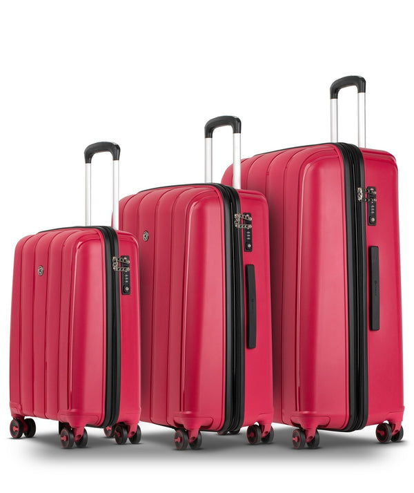 Conwood Pacifica Spinner 3Pc Set | Red