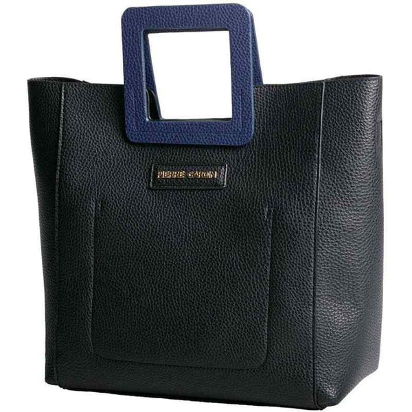 Pierre Cardin Debbie Top Handle Handbag | Black - KaryKase