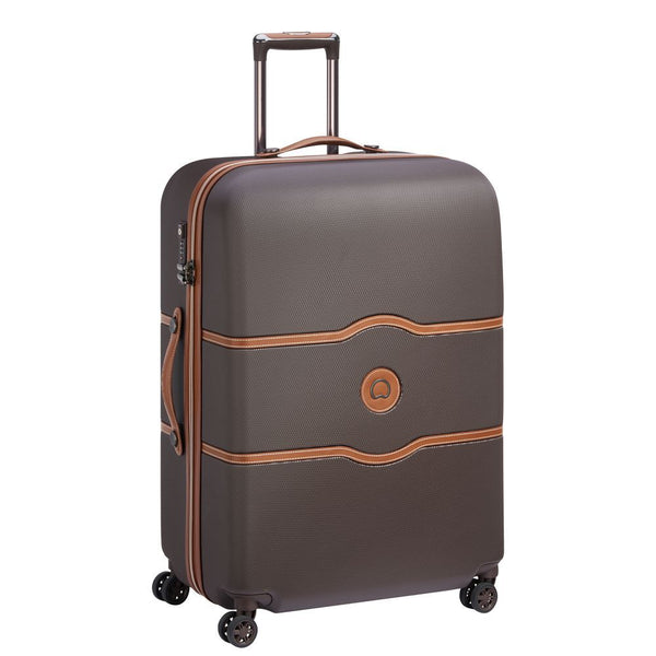 Delsey Chatelet Air Large Check In Case 77cm 4 Double Wheels | Chocolate - KaryKase