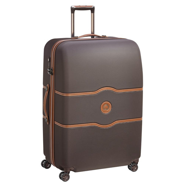 Delsey Chatelet Air Large Check In Case 82cm 4 Double Wheels | Chocolate