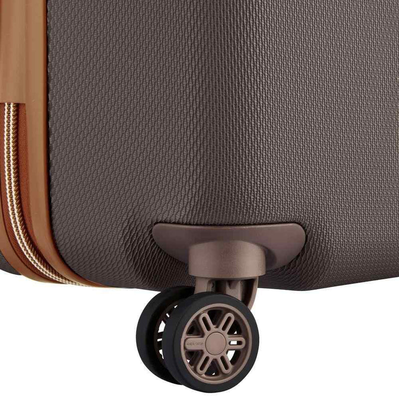 Delsey Chatelet Air Large Check In Case 82cm 4 Double Wheels | Chocolate - KaryKase
