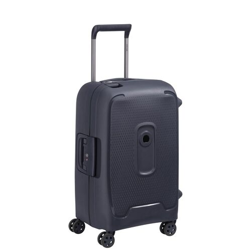 Delsey Moncey Cabin Trolley Case 55 cm 4 Double Wheels  | Anthracite - KaryKase