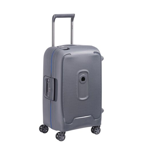 Delsey Moncey Cabin Trolley Case 55 cm 4 Double Wheels  | Grey - KaryKase