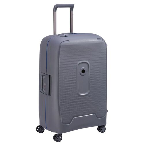 Delsey Moncey Medium Check In Case 69cm 4 Double Wheels | Grey - KaryKase