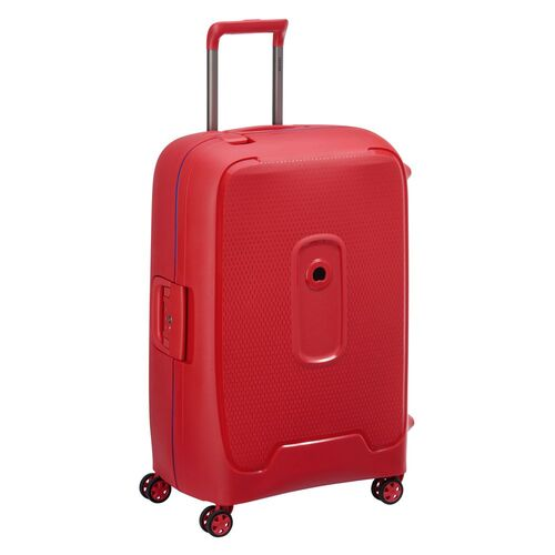 Delsey Moncey Large Check In Case 76cm 4 Double Wheels  | Red - KaryKase