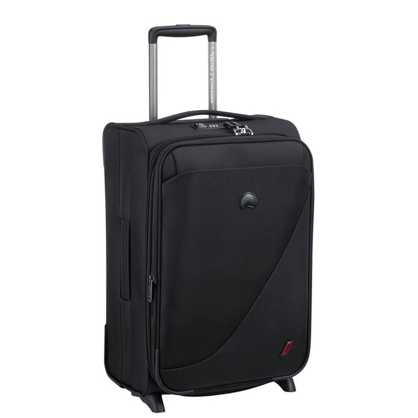 Delsey New Destination 55cm 2 Wheel expandable Cabin Trolley | black - KaryKase