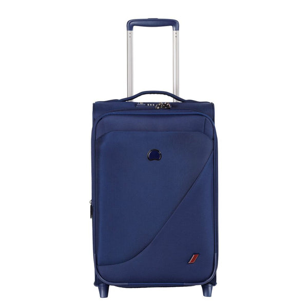 Delsey New Destination 55cm 2 Wheel expandable Cabin Trolley | Navy - KaryKase