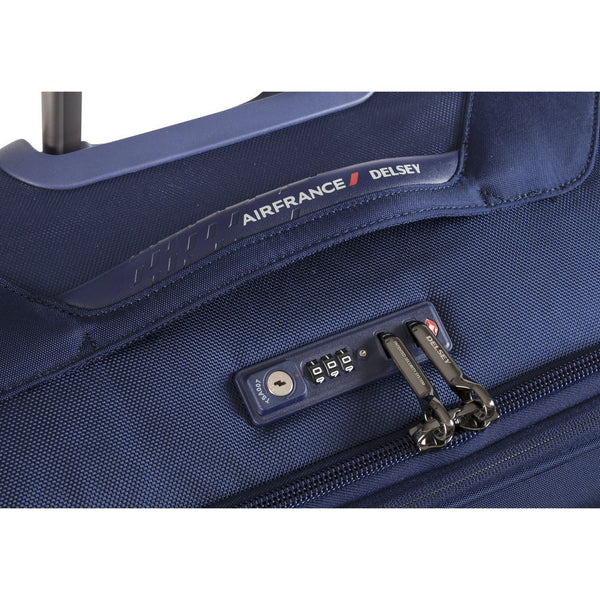 Delsey New Destination 55cm 2 Wheel expandable Cabin Trolley | Navy