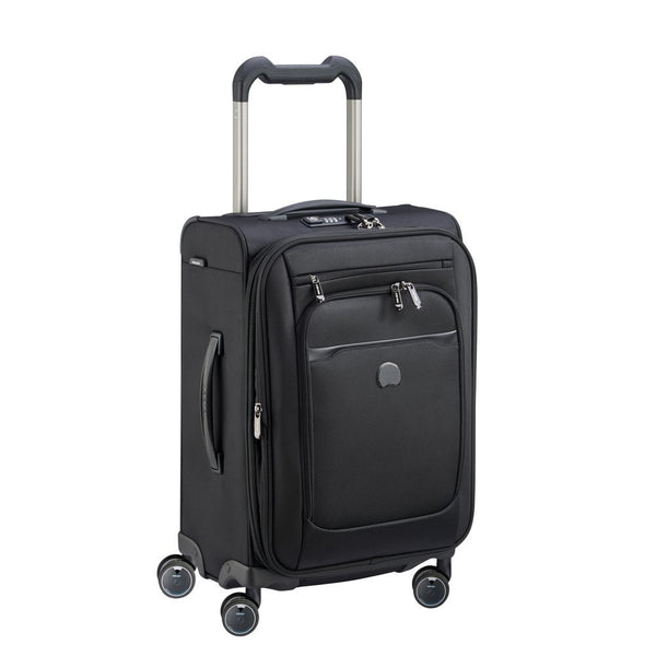 Delsey Pilot WW5 68m 4 Double Wheels Trolley Case |  Black