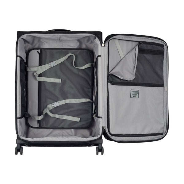 Delsey Pilot WW5 75cm 4 Double Wheels Trolley Case |  Black
