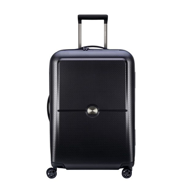 Delsey Turenne 65cm 4 double wheels trolley case | Black - KaryKase