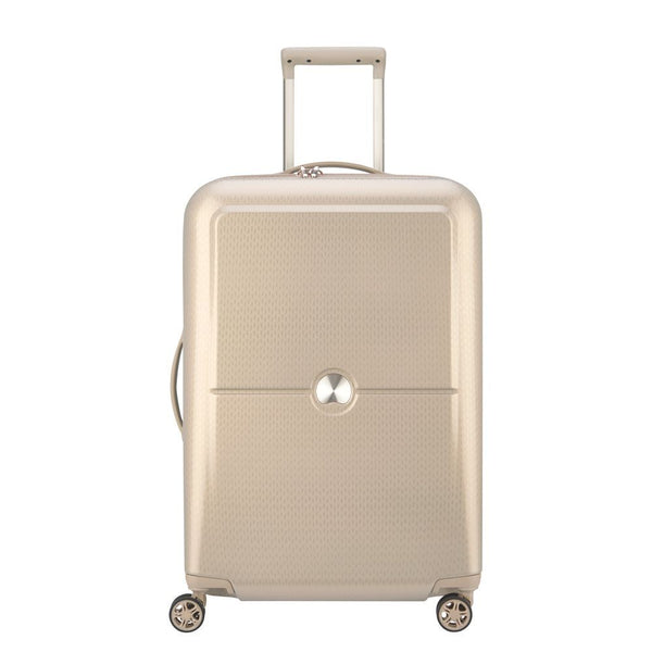 Delsey Turenne 65cm 4 double wheels trolley case | Gold