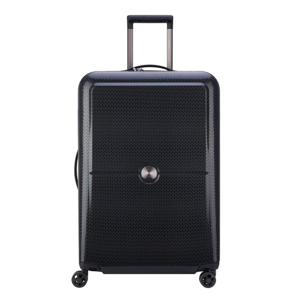 Delsey Turenne 70cm 4 Double Wheels Trolley Case | Black - KaryKase