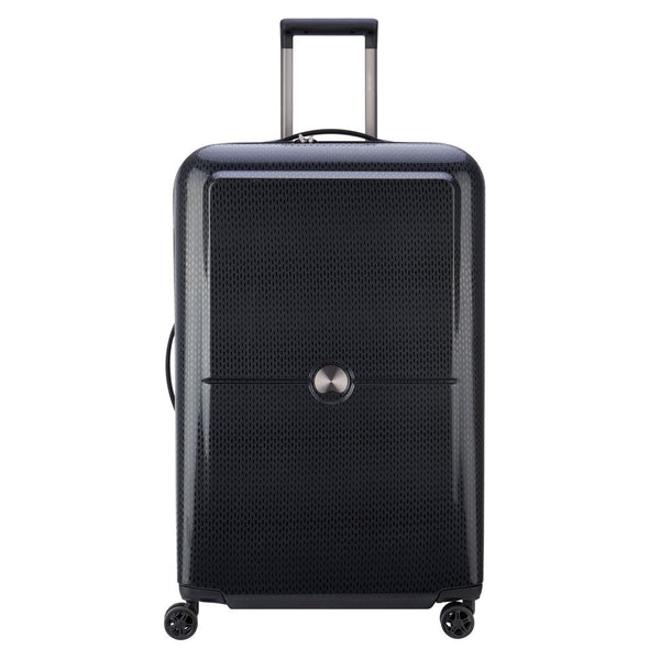 Delsey Turenne 75cm 4 Double Wheels Trolley Case | Black - KaryKase