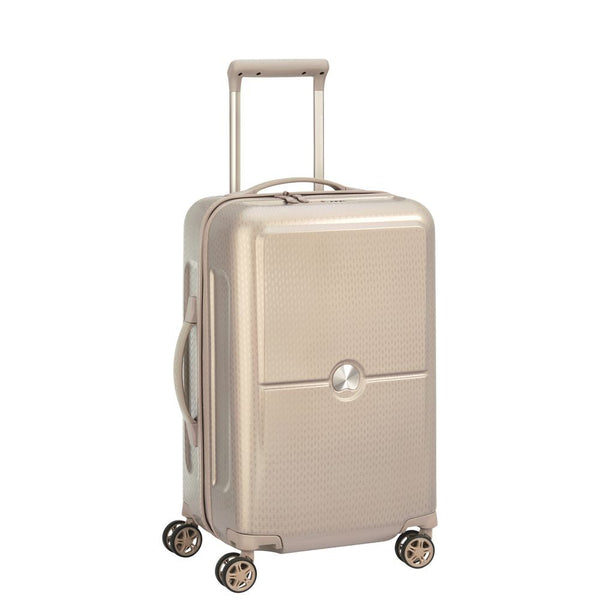 Delsey Turenne Cabin Trolley Case 55cm 4 Double Wheels | Gold
