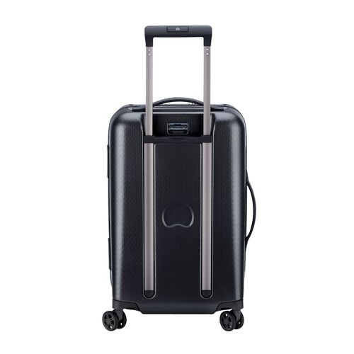 Delsey Turenne Cabin Trolley Case 55cm 4 Double Wheels | Black