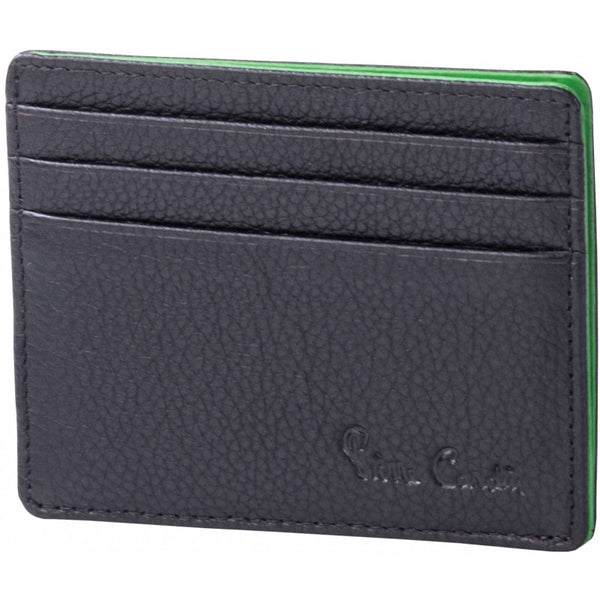 Pierre Cardin Donny Leather Card Holder | Black - KaryKase
