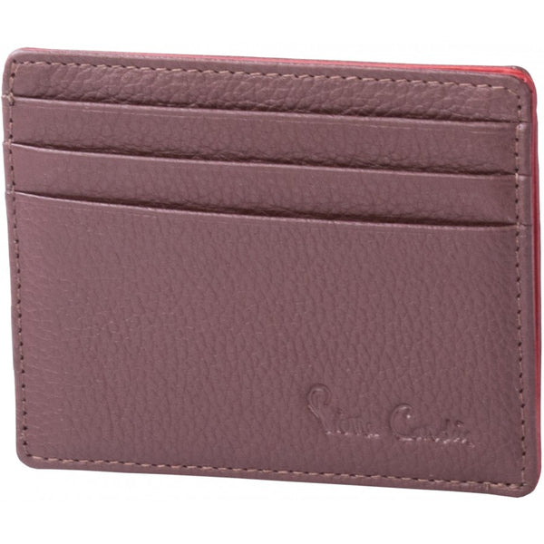 Pierre Cardin Donny Leather Card Holder | Brown - KaryKase