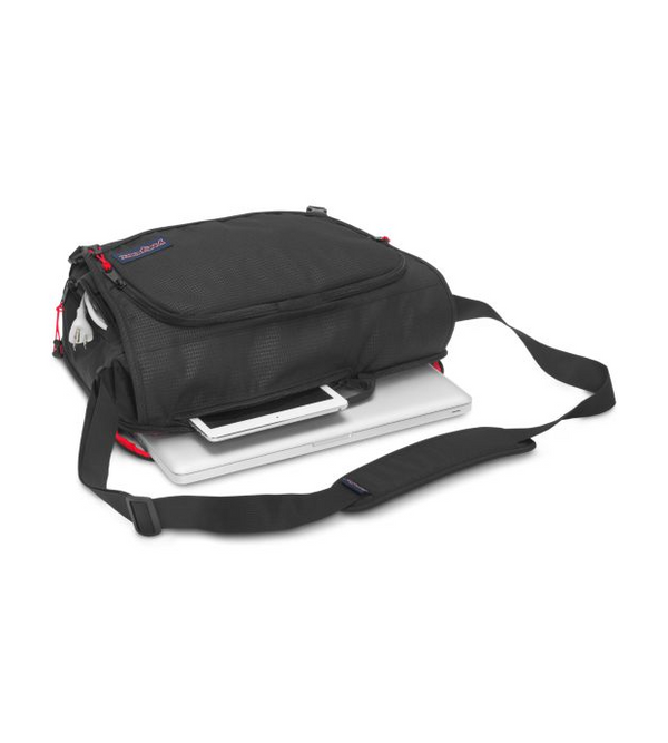 Jansport Network Messenger Bag | Black - KaryKase