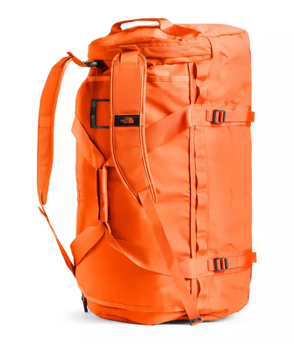 The North Face Base Camp 95L Duffel (Large) | Acrylic Orange / Picante Red