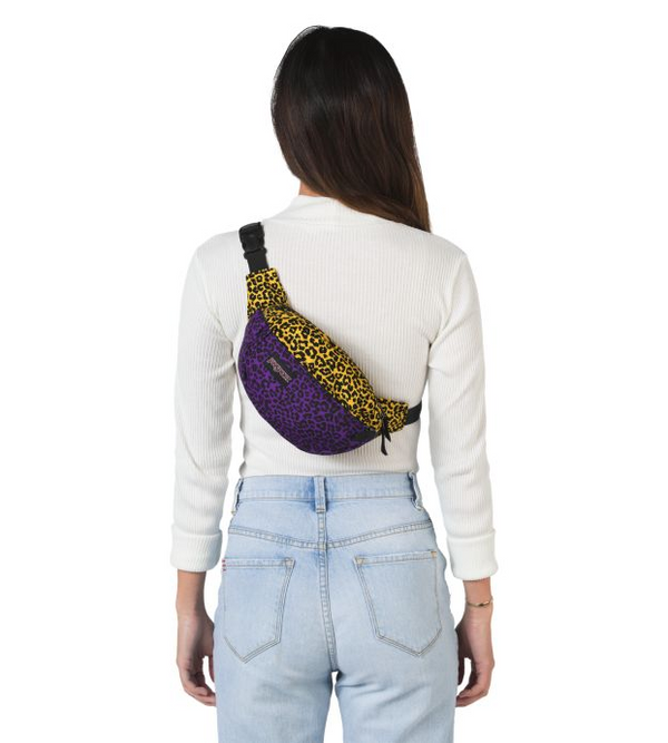 Jansport 5th Avenue Fanny Pack | Purple Leopard Life - KaryKase
