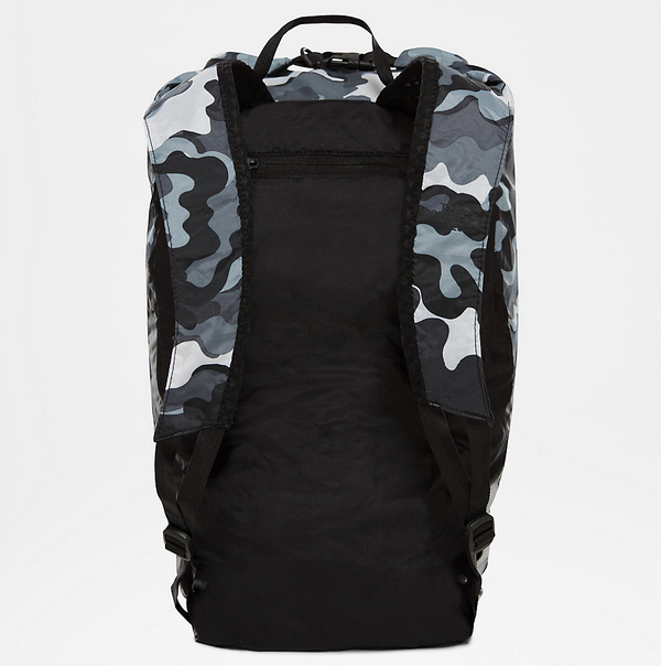 The North Face Flyweight Rolltop Foldable Backpack | Tnf Black Psychedelic Print / Tnf Black