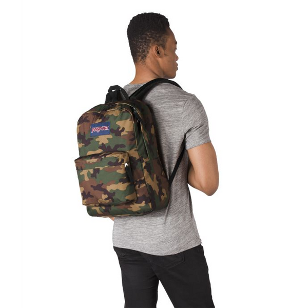 Jansport SuperBreak® Backpack | Surplus Camo - KaryKase