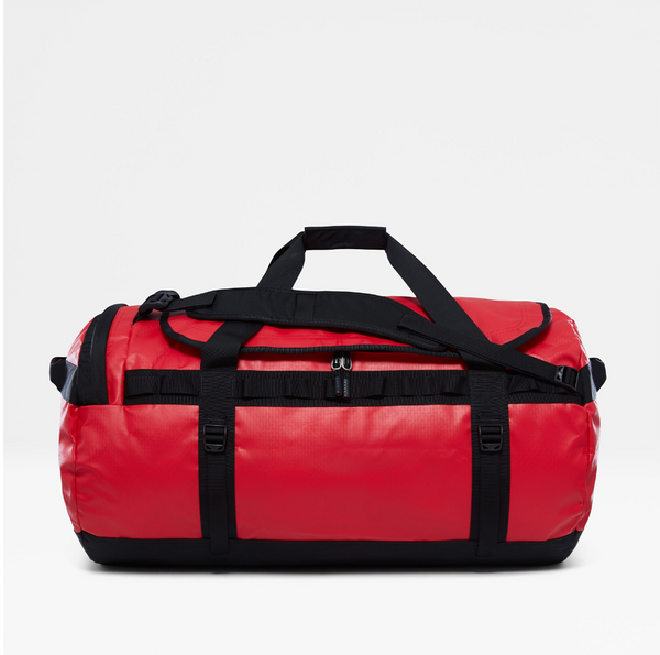 The North Face Base Camp 95L Duffel (Large) | TNF Red / TNF Black - KaryKase
