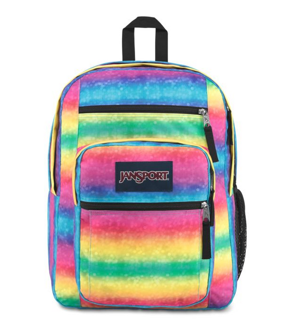 Jansport Big Student Backpack | Rainbow Sparkle - KaryKase