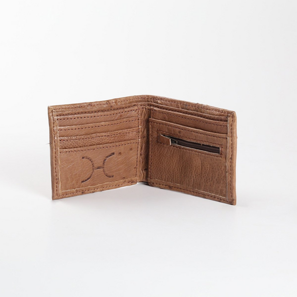 Thandana Mens Ostrich Leather Wallet - KaryKase