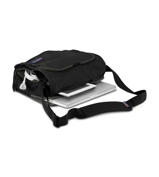 Jansport Tasker Messenger Bag | Black - KaryKase