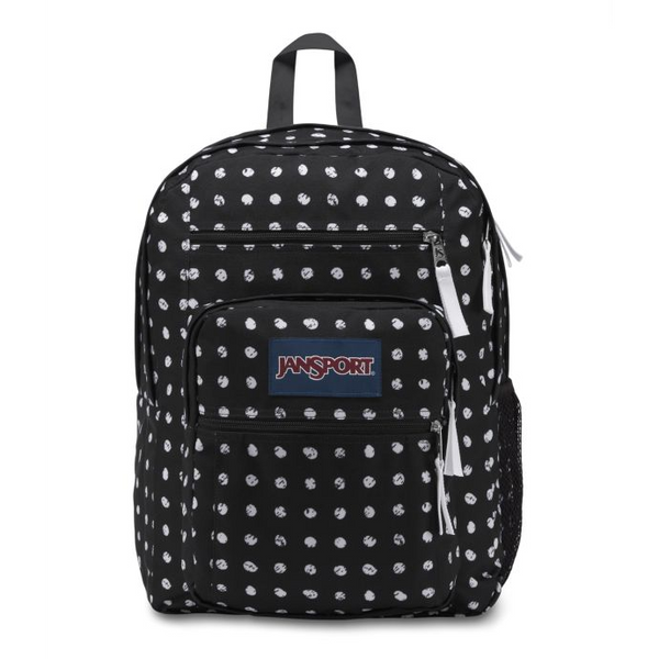 Jansport Big Student Backpack | Black Sketch Dot